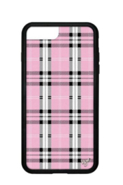 Wildflower Cases Pink Plaid iPhone 6+/7+/8+ Case - Product Mini Image
