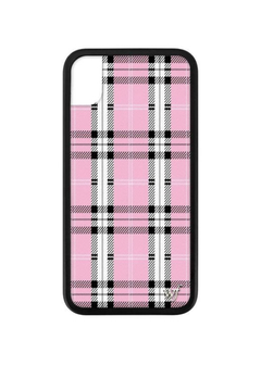 Wildflower Cases Pink Plaid iPhone Xr Case - Alternate List Image