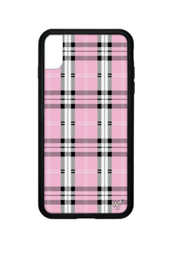 Wildflower Cases Pink Plaid iPhone Xs Max - Alternate List Image