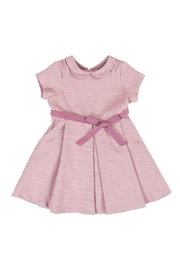 Malvi & Co. Pink Pleat Dress. - Front cropped