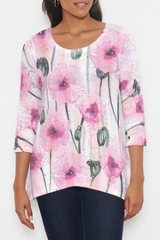 Whimsy Rose Pink Poppies Tunic - Product Mini Image