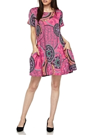 KITTY COUTURE  Pink Printed Tunic - Product Mini Image