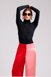 Amall Pink/Red Trousers - Product Mini Image