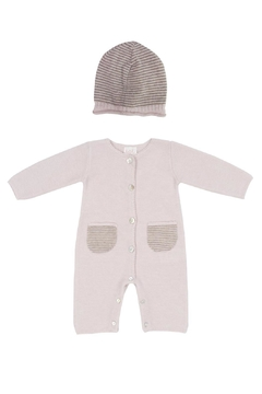 Shoptiques Product: Pink Romper Set.