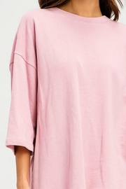 Imagine That Pink Rose Top - Side cropped