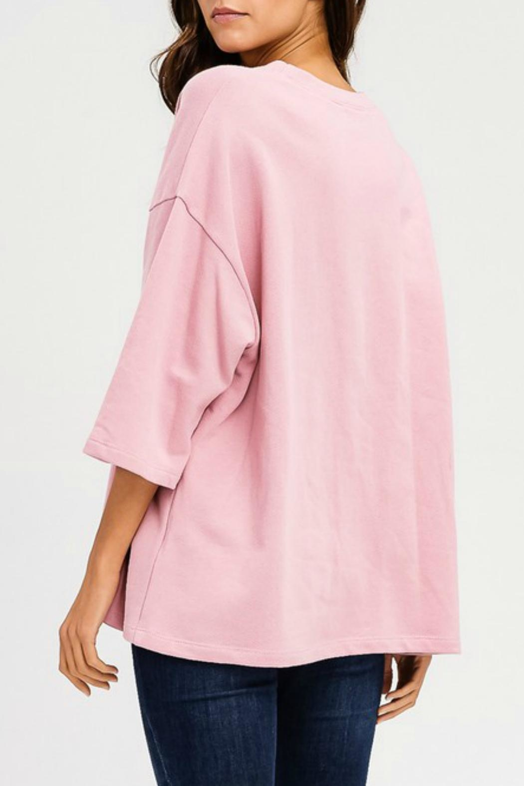 Imagine That Pink Rose Top - Front Full Image