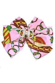 L'Imagine Pink Scarf Bow - Front cropped