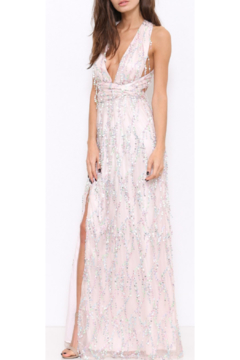 L'atiste Pink Sequence Gown - Product List Image