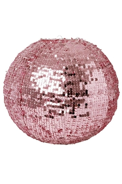 Rice DK Pink Sequin Lampshade - Alternate List Image