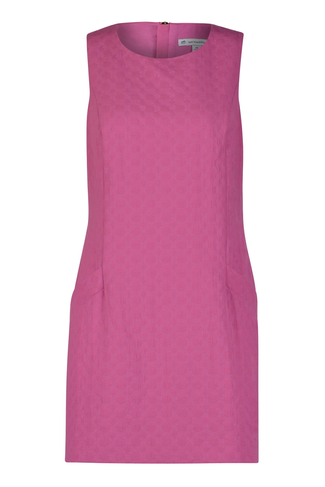 Southern Tide Pink Shift Dress - Main Image