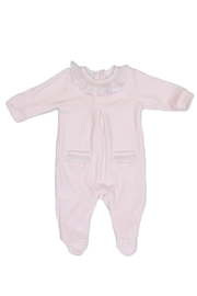 Malvi & Co. Pink Sleepsuit. - Front cropped