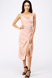 Renamed Clothing Pink Slip Dress - Front cropped