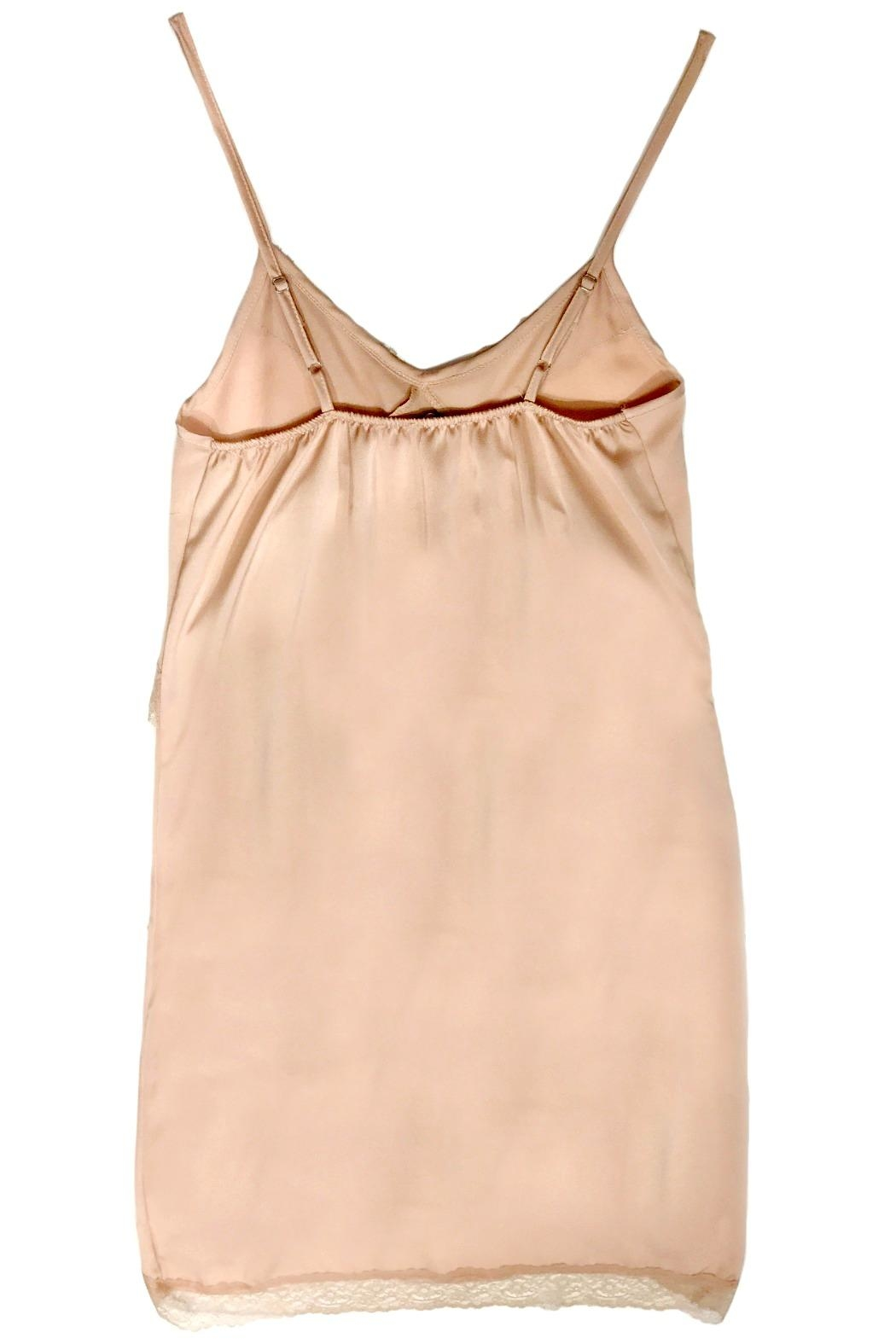 Dixie Pink Slip Dress - Front Full Image