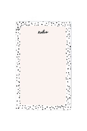 Idlewild Co. Pink Speckled Notepad - Product Mini Image