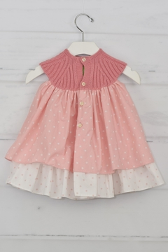 cesar blanco Pink Star Dress - Alternate List Image