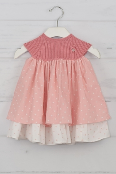 cesar blanco Pink Star Dress - Product List Image