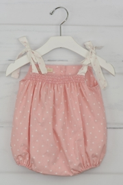 cesar blanco Pink Stars Onesie - Front cropped