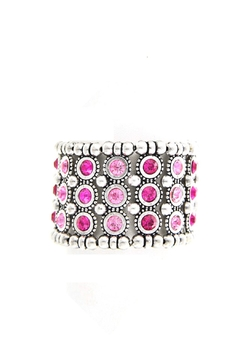 Wild Lilies Jewelry  Pink Statement Bracelet - Product List Image
