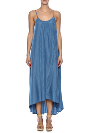 Pink Stitch Resort Maxi - Front cropped