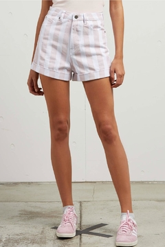 Volcom Pink Stoned Shorts - Product List Image