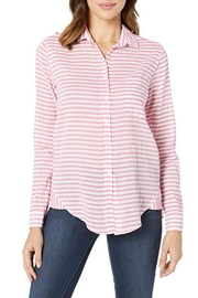Elliot Lauren  Pink Stripe Shirt - Product Mini Image