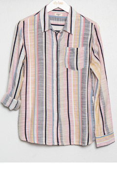 Dylan Pink Stripe Shirt - Product List Image