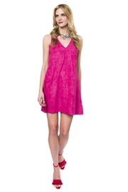 Julie Brown NYC Pink Suede Dress - Product Mini Image