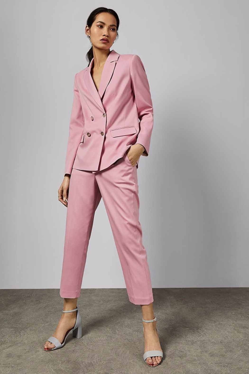 Ted Baker London Pink Suit Trouser - Main Image