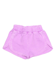 JOAH LOVE Pink Surf Shorts - Front full body