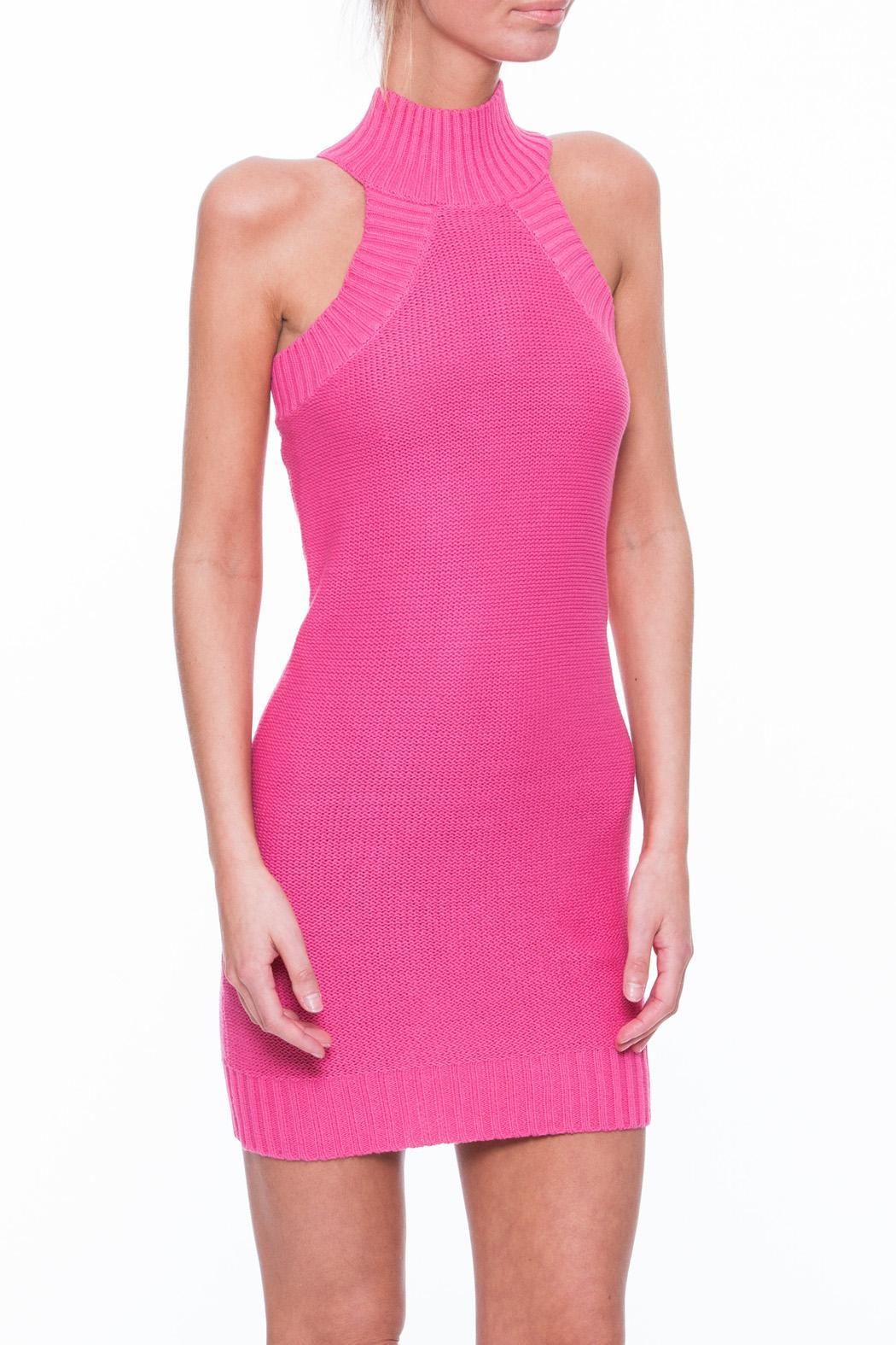 Uniq Pink Sweater Dress from South Carolina by Current Society ...