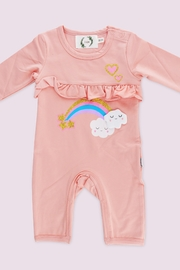 T & Tim Pink Sweet Dreams Sleep Jumpsuit - Front cropped
