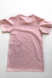 Shapes Of Things Pink T-Shirt Dress - Side cropped