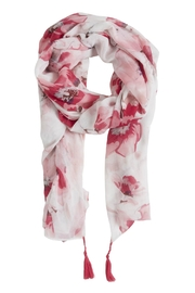 B.young Pink Tassel Scarf - Product Mini Image