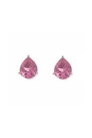 Diane's Accessories Pink Tear-Drop Earrings - Product Mini Image