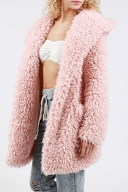 POL Pink Teddy Jacket - Product Mini Image