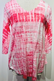 Whimsy Rose Pink Tie Dye - V-Neck Flowy - Product Mini Image