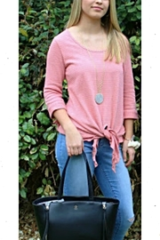 Simply Noelle Pink Tie Top - Product Mini Image