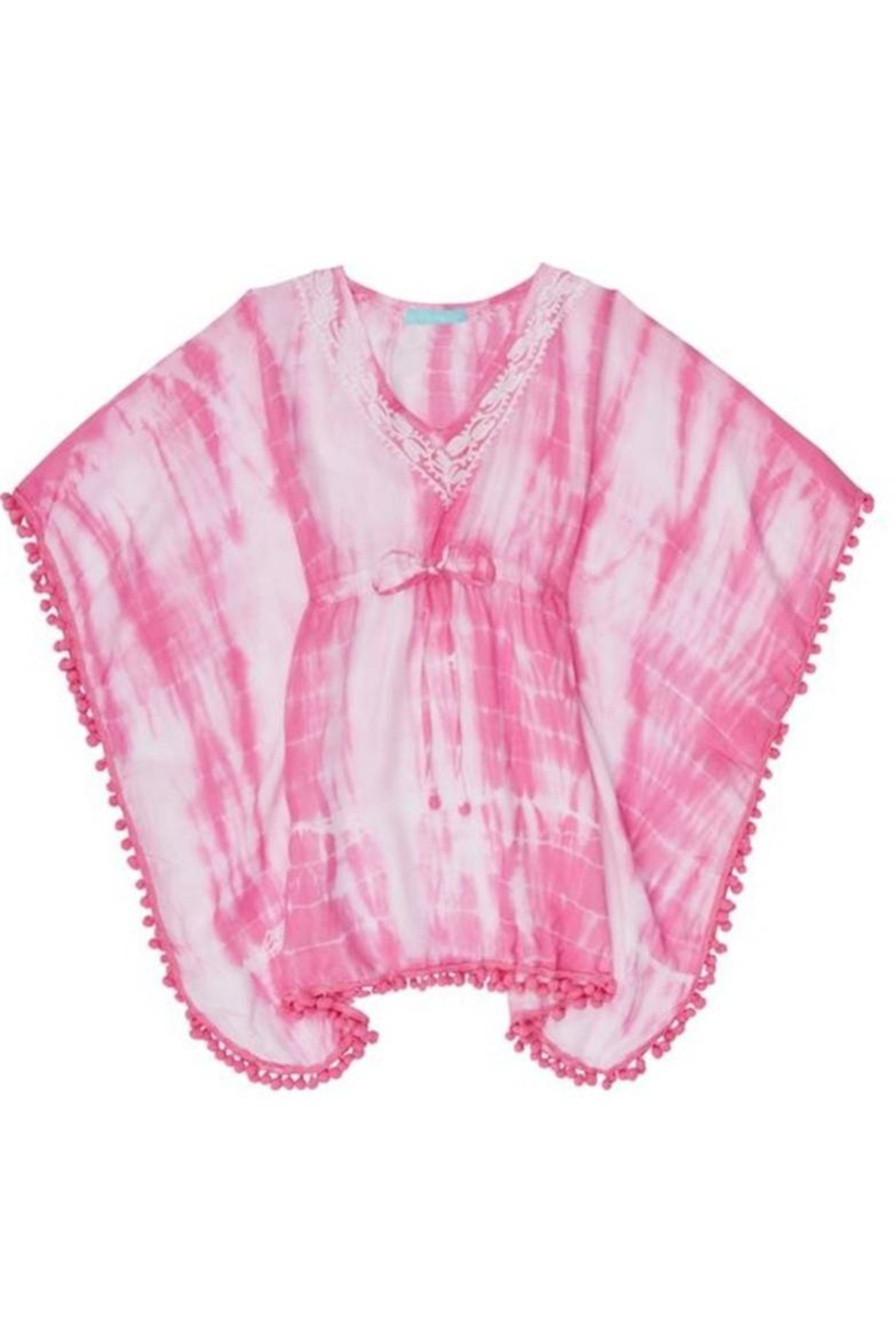 Melissa Odabash Pink Tiedye Coverup - Front Cropped Image