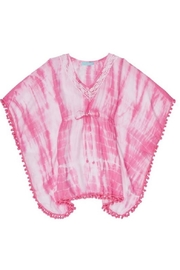 Melissa Odabash Pink Tiedye Coverup - Front cropped