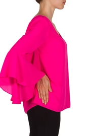 Joseph Ribkoff Pink Top - Side cropped