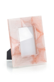 The Birds Nest PINK TRANSLUCENT AGATE FRAME - Product Mini Image