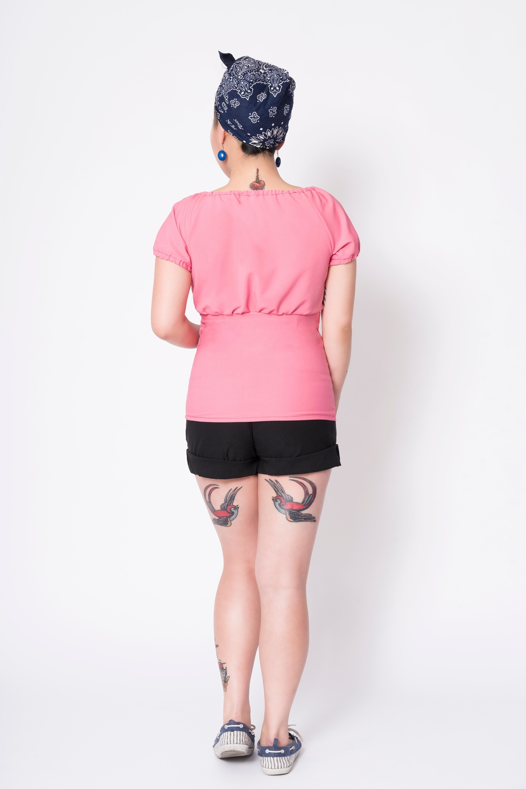 Putre Fashion Pink Trixie Top - Front Full Image