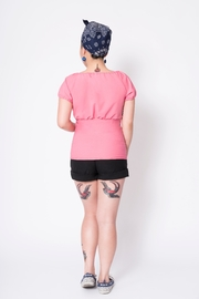 Putre Fashion Pink Trixie Top - Front full body