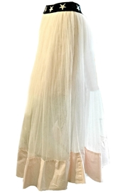 Maryley Pink Tulle Skirt - Front full body