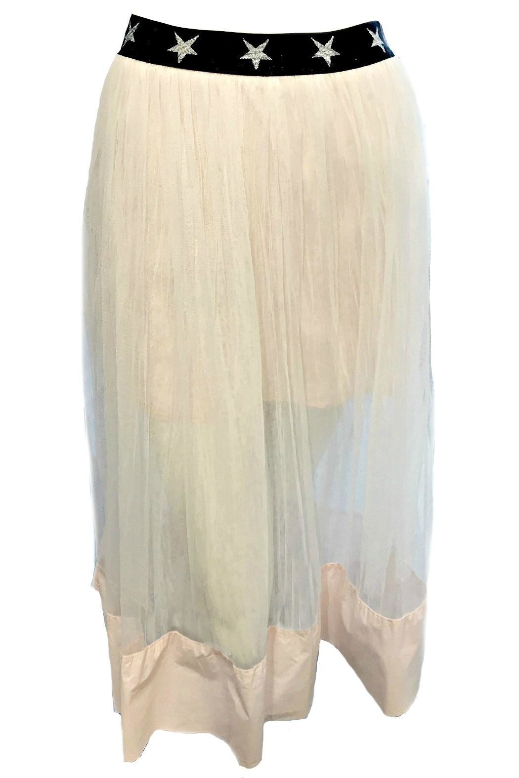 Maryley Pink Tulle Skirt - Main Image