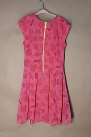 DESIGUAL Pink Victoria Dress - Front full body