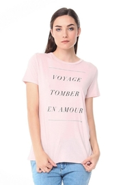 Michelle by Comune Pink Voyage Tee - Product Mini Image