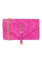 Wild Lilies Jewelry  Pink Weave Clutch - Product Mini Image