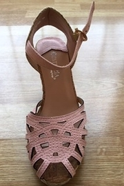 Spring Step  pink wedge sandal - Product Mini Image