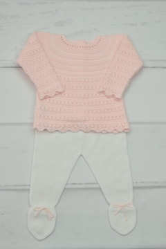 Shoptiques Product: Pink & White Outfit